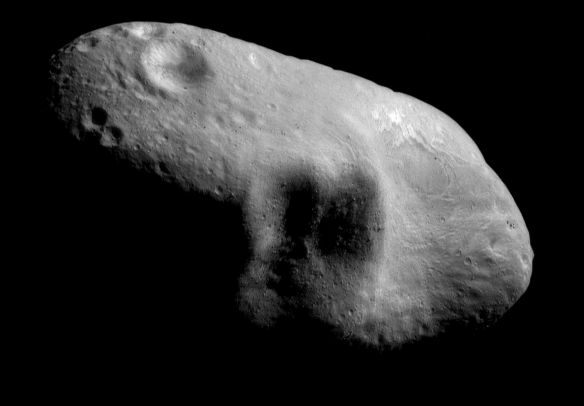Space Asteroid Mining sample rock